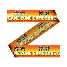 Absperrband Band Girlanden Deko Skylanders Giant Game Zone Orange 15m Mottoparty