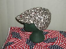 Pirate Skull & Gold teeth: Red's American Made: Welding Hat Biker Cap $7.50 each