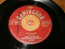 JACK HANSEN & BRAZILIAN BEACHCOMBERS / DON RODNEY -DELICADO - I'M YOURS - LISTEN