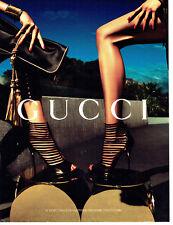 Publicité Advertising 058   2011   Gucci    coll chaussures  sacs