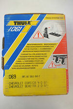 Thule Aero Foot Pack Fit Kit 069 1987-1990 Chevrolet Corsica/Beretta NEW LOOK