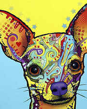 Chihuahua Dean Russo Animal Dog Contemporary Print Poster 8x10