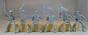Marx Civil War Long Coat Cavalry Confederate Gray