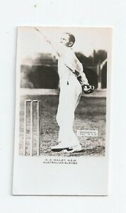 1924 Pals Cricket card A.A.Mailey New South Wales copy and trimmed
