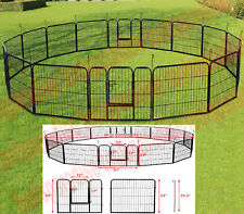 Dogs Fence Outdoor Metal Cage Fencing Pet Playpen Big Size