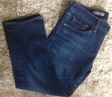 AG Jeans THE TOMBOY CROP 29R Adriano Goldschmied Cropped Jeans EUC