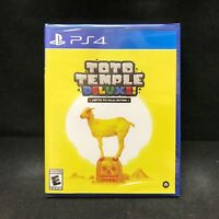 Toto Temple Deluxe! [Limited physical Edition] (Playstation 4) Brand New