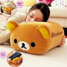FD4725 Rilakkuma Bear San-X Multi Purpose Big Stuffed Plush Pillow Cushion 1pcΔ