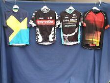 Joblot 4 x Cycling Jersey tops Quick Dri Size large  Adults top #B51