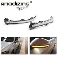 Dynamic Bright LED Turn Signal Mirror Light For VW Golf MK7 GTI 7 R Rline GTD