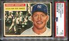 1956 Topps #135 Mickey Mantle PSA 1 Looks Nicer Gray Back HOF New York Yankees