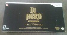 DJ Hero: Renegade Edition (Nintendo Wii, 2009)BRAND NEW SEALED NEVER OPENED