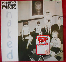 LP Kissing the Pink naked Magnet 825327-1 West Germany 1983 OIS