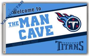 Tennessee Titans Man Cave Football Team Memorable Flag 90x150cm 3x5ft banner
