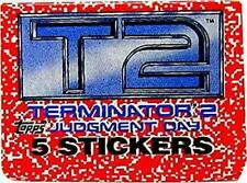 Lovely Small X Vintage Unopened Topps Terminator 2 T2 1991 Stickers