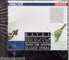 Mussorgsky / Ravel: Pictures At An Exhibition / Eliahu Inbal - CD Denon Japan