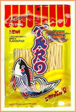 32 g. TARO Fish Low Fat Snack # Spicy Flavoured