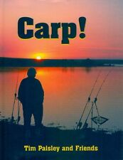 PAISLEY TIM COARSE AND CARP FISHING BOOK CARP ! hardback NEW