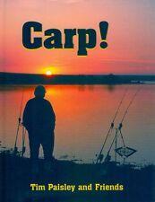 PAISLEY TIM COARSE & CARP FISHING BOOK CARP! hardback new