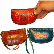 Leather Wristlet Wallet/Id Holder,Choose From 3 Color