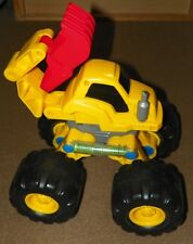 Vintage LITTLE TIKES Backhoe MONSTER Construction TRUCK Child Size SOUNDS