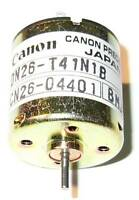 Canon Precision Iron Core Motor - Canon DN26 - HO Train 2mm Shaft DC 12V Motor