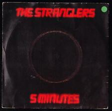 THE STRANGLERS DISCO 45 GIRI 5 MINUTES - STAMPA INGLESE UP 36350