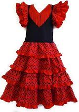 0855c680e45c7 Flamenco robe pour fille 4- 6 ans
