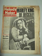 MELODY MAKER 1975 JULY 26 BOB MARLEY THE CHIEFTAINS HOT CHOCOLATE DAVID ESSEX