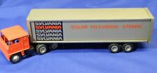 Vintage Winross Tractor Trailer Rig Sylvania Color Television - Stereo VT1242
