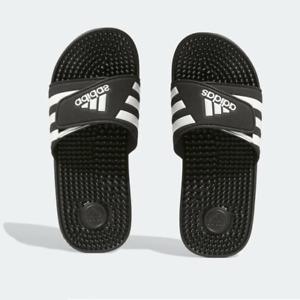 Adidas Slides Men's Man Men Slide on Sliper Sandal Massage Nubs on Footbed NEW