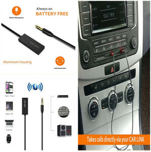 Bluetooth Receiver 3.5mm USB Audio Music Wireless Adapter for Speaker Headphone