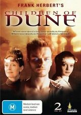 CHILDREN OF DUNE : COMPLETE MINISERIES (2 Disc)-   DVD - UK Compatible -sealed