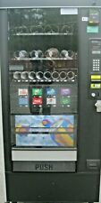 Automatic Products Canned Soda and Snack Combination Vending Machine w/CC Reader