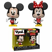 IN STOCK! Mickey Mouse and Minnie Mouse Vynl. Figure 2-Pack by Funko