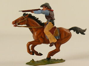 Elastolin 7 cm - Cowboy zu Pferd