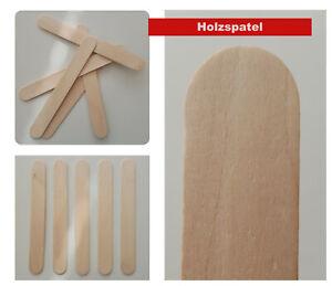 Hochwertige Birken Holzspatel, Holzmundspatel, Wachs Zungenspatel, Wachsspatel