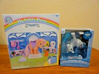 Hasbro My Little Pony Pretty Parlor 35th Peachy & Stranger Things Applejack NIP