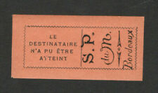 FRANCE-MONTENEGRO EXILE GOVERNMENT IN BORDEAUX-MNH LABEL FOR RETURNED SHI- 1916.