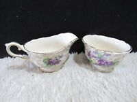 James Kent LTD. Creamer and Sugar Set, Made in England