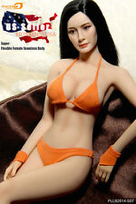 PHICEN 1/6 Female Seamless Figure Body L Bust Steel Skeleton PLLB2014-S07 USA