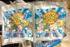 Burger King POKEMON Power Collector Card and Toy Lot of 2 New & Sealed