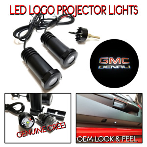 Lumenz LED Courtesy Logo Lights Ghost Shadow for GMC Denali 100542