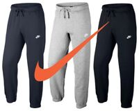 Nike Mens Joggers Club Trousers Jogging Fleece Tracksuit Bottoms Sweatpants