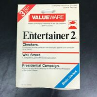 3-in-1 Wall Street, Checkers, Presidential Campaign [Commodore 64, 1985] CIB