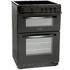 Montpellier Freestanding Electric Cooker 60cm Black with