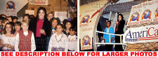 MICHAEL JACKSON HEAL THE WORLD PLANE 2xRARE PHOTOS