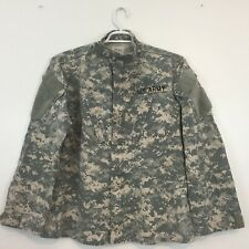 ACU US Military Army Shirt Size M  Combat Jacket Sewing Patch Digital Camo