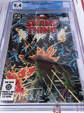 SAGA OF THE SWAMP THING #20 CGC NM 9.4 1984 1st ALAN MOORE on Swamp Thing!