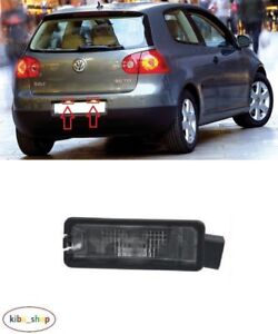 VW GOLF V MK5 2004 - 2009 HATCHBACK REAR NUMBER PLATE LIGHT LAMP LEFT OR RIGHT